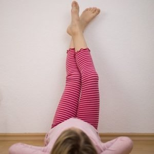 Rueschensaum mit Leggings