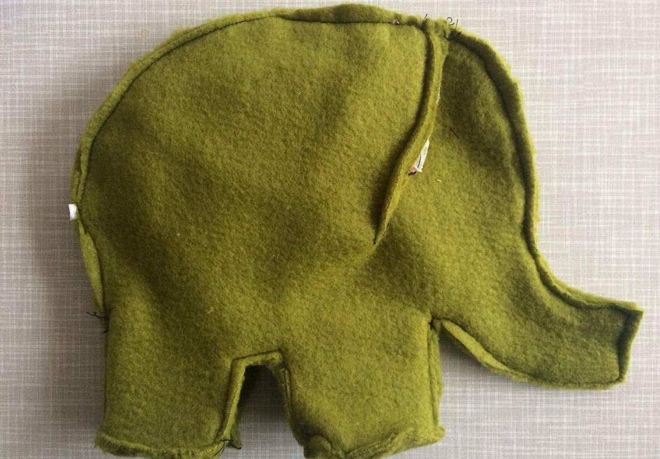 kuscheltier n hen ein elefanten selber n hen. Black Bedroom Furniture Sets. Home Design Ideas