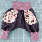 Babyhose nähen: Bequeme Hose für euer Baby