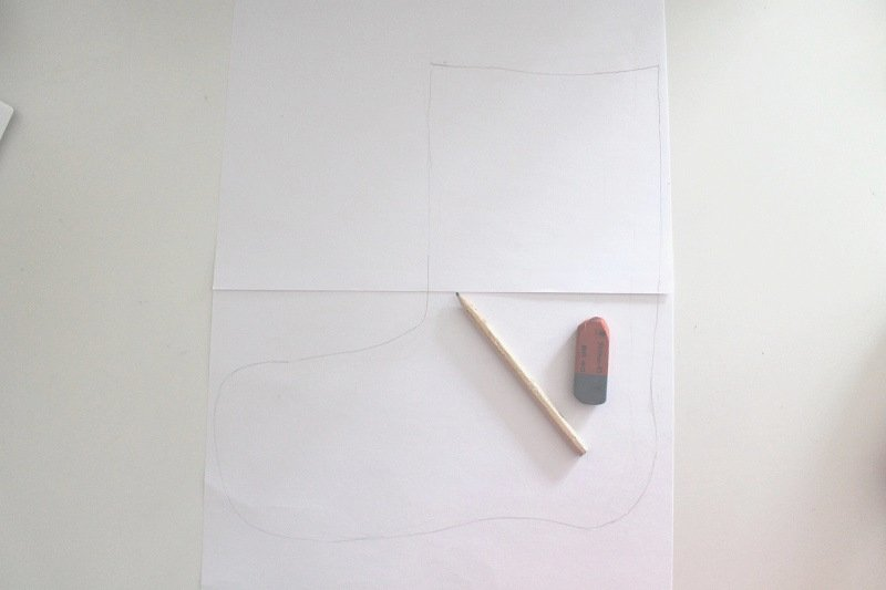 nikolausstiefel n hen anleitung f r stiefel zum nikolaustag. Black Bedroom Furniture Sets. Home Design Ideas