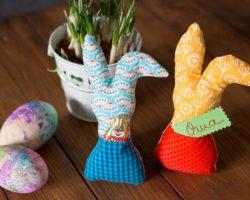 Osterhasen nähen: Nähanleitung für einen Hasen