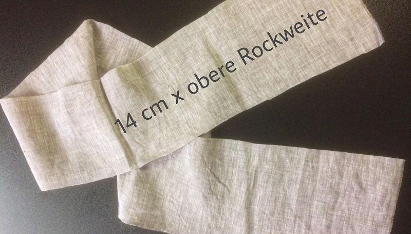 wickelrock-naehen-bindebaender