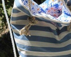Strandtasche nähen: Das Must-Have für deinen Badeurlaub
