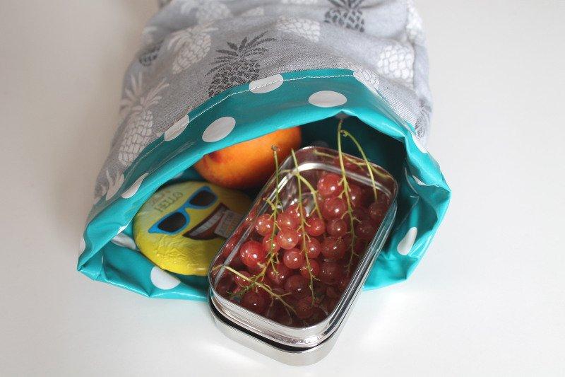 lunchbag nähen mit füllung