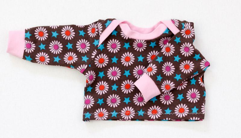 puppenkleidung nähen shirt
