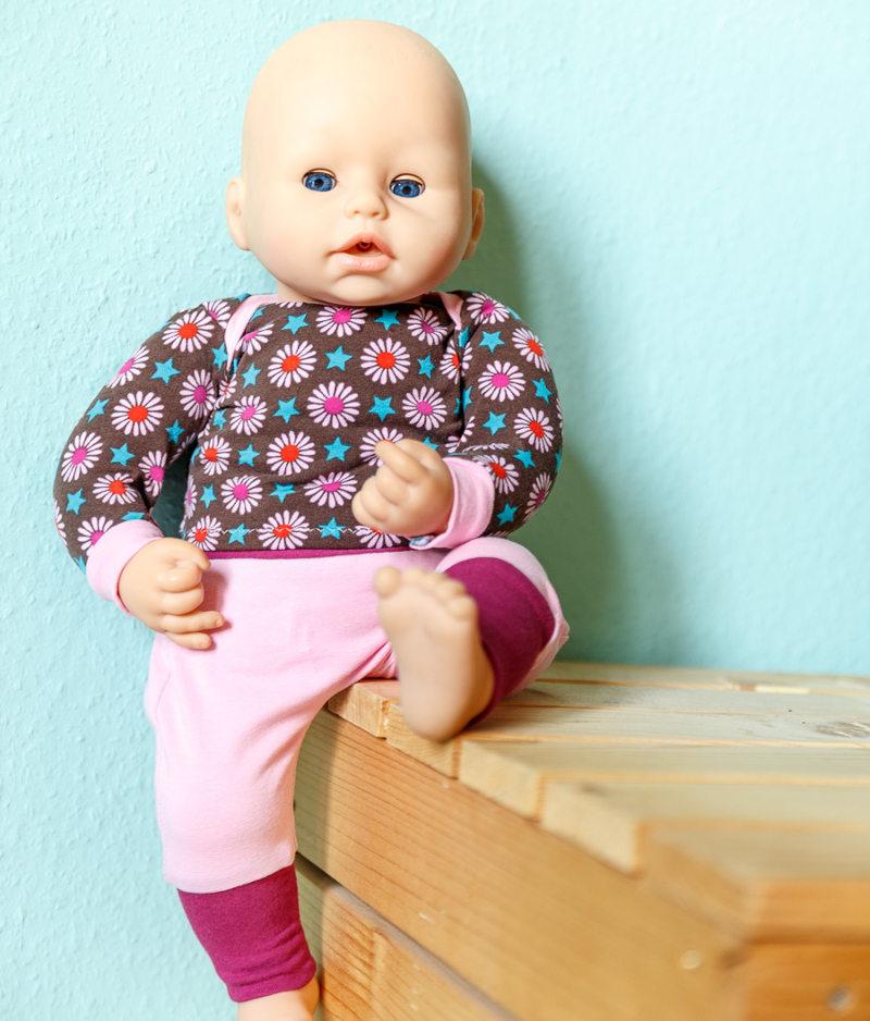 Puppenkleidung nähen