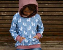 Hoodie nähen: Kapuzenpullover für stürmische Tage
