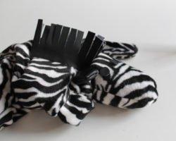 Körnerkissen nähen: Wärmendes Zebra gegen Verspannungen und kalte Tage