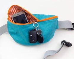 Bauchtasche nähen: Praktisches Täschchen für unterwegs