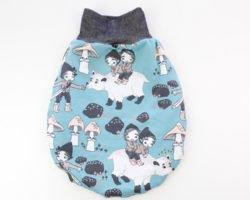 Pucksack nähen: Kuscheliger Strampelsack für Dein Neugeborenes