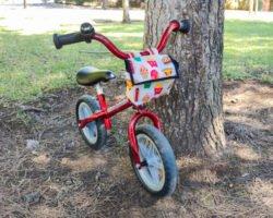 Lenkertasche nähen: Tasche nach Maß für das Laufrad