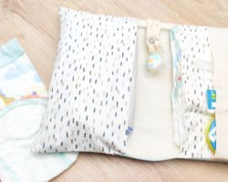 Windeltasche nähen: Praktische Aufbewahrung für die Wickeltasche